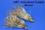 ARF Articulated Sculpin (set of 3 flies)