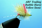 ARF Trailing Bubble Harey Yellow Stone (set of 3 flies)
